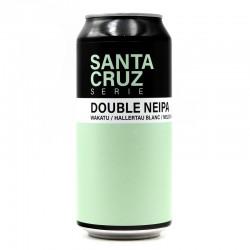 Bière artisanale - Santa Cruz Double NEIPA - Brasserie Sainte Cru