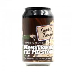 Bière artisanale - Monstruous Fat pig Stout Cookie Dough- Piggy Brewing