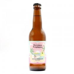 Bière artisanale française - Joyeuses Tropiques - Effet papillon