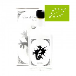 Eau-de-vie de cidre - Dragon Blanc - Domaine Johanna Cécillon - Bouteille et coffret