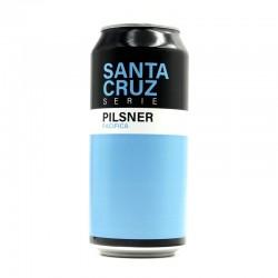 Bière artisanale française - Santa Cruz Pilsner Pacifica - Sainte Cru