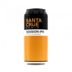 Bière artisanale française - Session IPA Citron Gingembre - Sainte Cru