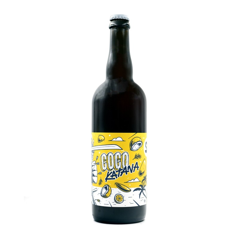 Bière artisanale française - Coco Katana 75cl - Senses Brewing