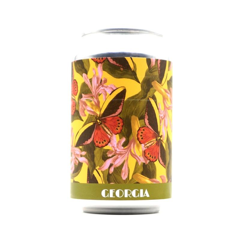Bière artisanale française - Georgia - Brasserie Effet Papillon