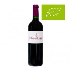 Vin rouge bio - Le beau Rouge -  Merlot et cabernet Franc - Clos Basté