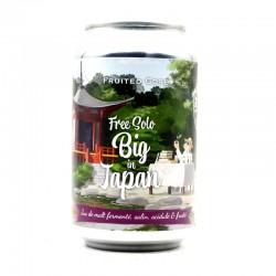 Bière artisanale française - Free Solo Big In Japan - Piggy Brewing
