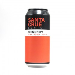 Bière artisanale - Santa Crüe Session IPA Citra Mosaic Simcoe