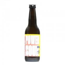 Bière artisanale française - Power Sour - Brique House x BRLO