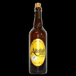 Bière Abbatiale triple - 75 cl