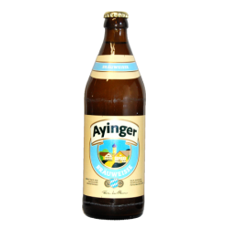 Bière Ayinger Bräuweisse