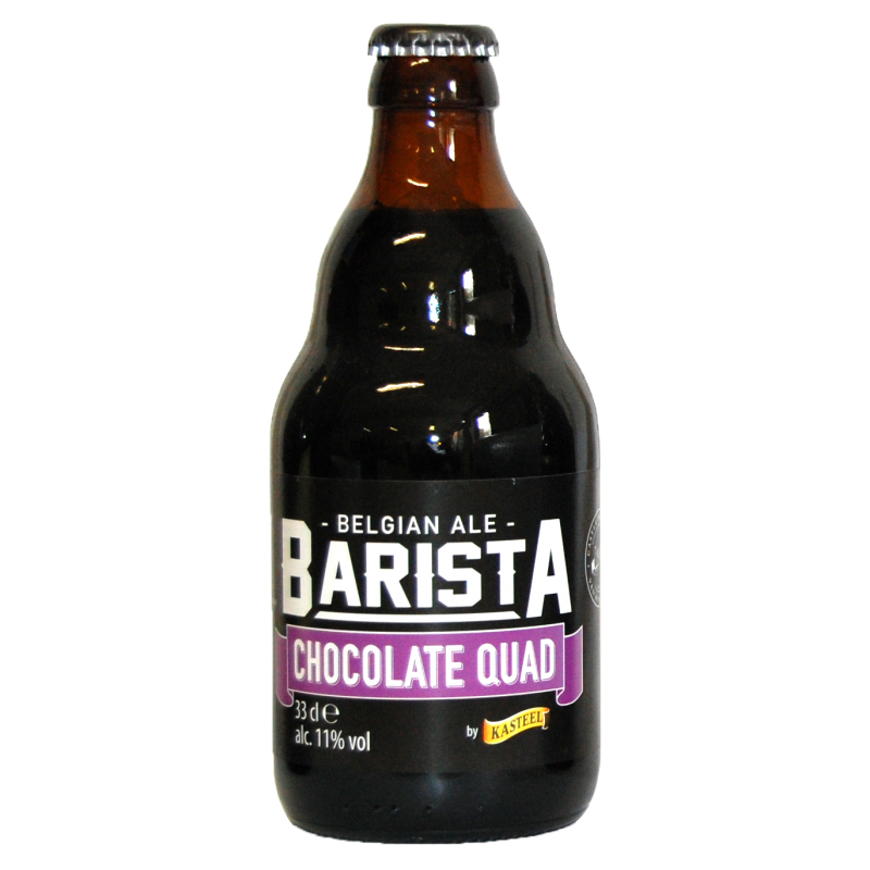 Bière Barista Chocolate Quad