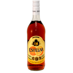 Liqueur de Rhum Estelar orange