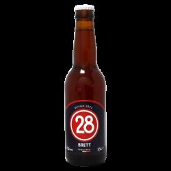 Bière Caulier 28 Brett