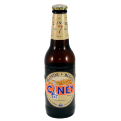 Bière Ciney blonde