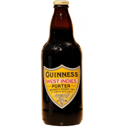 Bière Guinness West indies porter