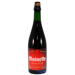 Bière Moinette brune - 75 cl