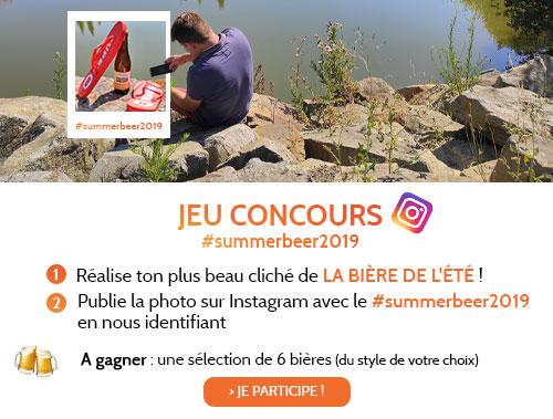 """Jeu Concours Instagram """"La Bière de l'été"""""""